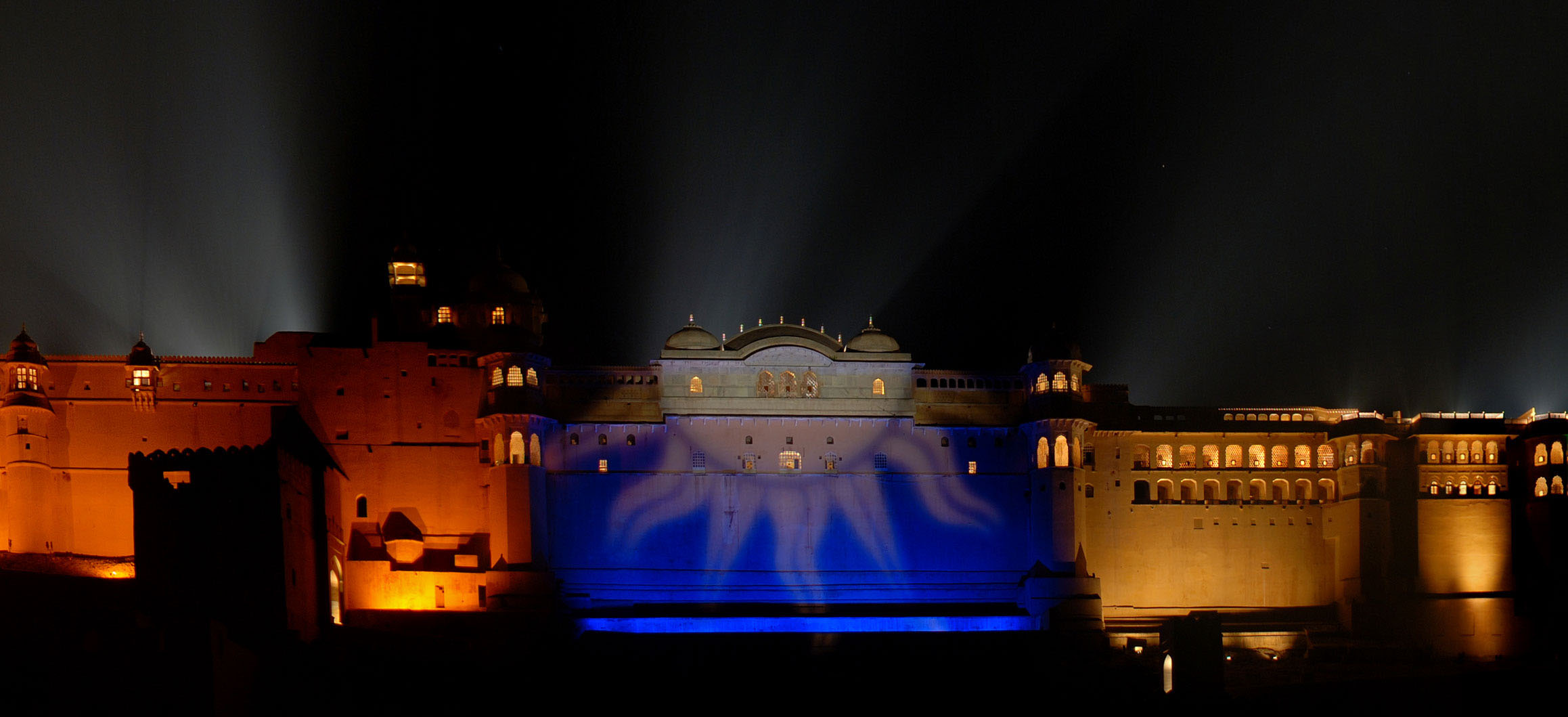 Travel into the past to experience stories and history through a spectacle of light and music.